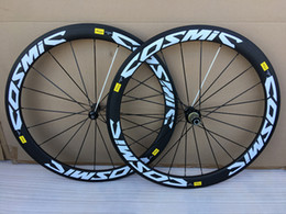 Wholesale Twill of SLR Cosmic Carbon ROAD Wheels 50mm 23mm width 700 c Road bike Carbon Wheelset 3k T1000 cosmic SLR