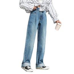Wholesale scrub pants for sale – denim SEMIR high waist wide leg for women Cotton elegant style scrub pants Spring trend loose pants