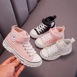 crochet baby shoes sizes Australia - Children Canvas Shoes Boys Sneakers Girls Tennis Shoes Kids Footwear Toddler Autumn Spring Chaussure Zapato Casual baby C1120