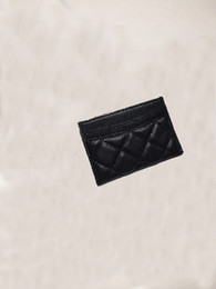Wholesale tops for girls for sale - Group buy Top quality girls and ladies Classic Casual Credit Card Holders cowhide Leather Ultra Slim Wallet Packet Bag For men Women w7 cm