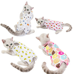 e collar dogs Australia - Cat Recovery Suit for Wounds Skin Diseases After Surgery Wear Anti Licking Wounds Breathable E-Collar Alternative for Dogs Kimter-C104FZ