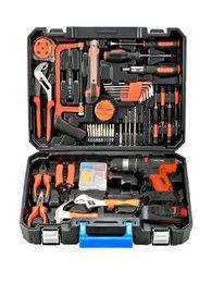 Wholesale Tool Organizers Instrument Storage Box Bag Organizer Professional Garage Aluminium Werkzeugkoffer Waterproof BA6