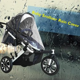 baby buggies prams NZ - Quality Universal Buggy Pushchair Stroller Pram Transparent Rain Cover Baby