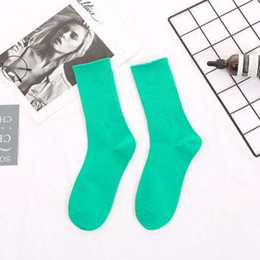 Wholesale Men Women Sports Socks Fashion Long Socks with Printed 2020 New Arrival Colorful High Quality Womens and Mens Stocking Casual Socks