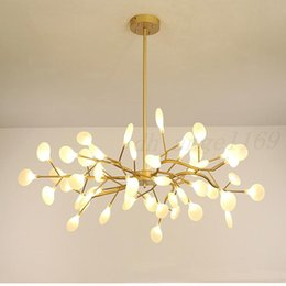 living rooms lights NZ - Modern Chandeliers Firefly Chandelier lighting For Living Room Nordic Lustre Luminaire Industrial Lighting Fixtures G4 Bulbs Free shipping