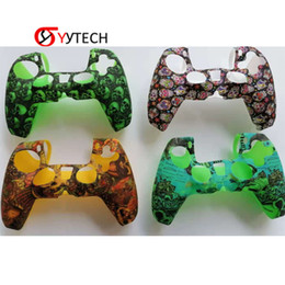 playstation controller skins Australia - SYYTECH New Design Factory Supply Controller Shell Soft Rubber Silicone Skin Protective Case for PS5 PlayStation 5 Game Accessories