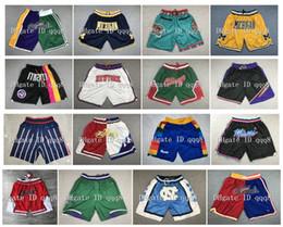 2019 Ultra-Light Sport Sport Sportwear Shorts Basketball Shorts de Basket-ball Gym Training Short Baseball Short avec poches à glissière Logos cousu en Solde