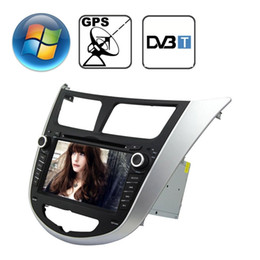 gps inch for car 2021 - Rungrace 70 inch Windows CE 60 TFT Screen In-Dash Car DVD Player for Hyundai Verna with Bluetooth GPS RDS DVB-T