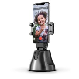 Wholesale mobile phone tracking for sale - Group buy Custom Rotation Face Object Auto Tracking Smart Shooting Phone Holder for All Mobile