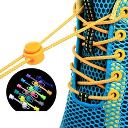 shoelace charms shoes Canada - 1 Pair Lui Veters Sneaker Lace Laces Shoe Accessories Lacets Shoestrings Running jogging triathlone
