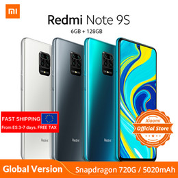 Wholesale Xiaomi Redmi Note 9S Smartphone Snapdragon 720G Octa core 5020mAh 48MP QuadCamera mobile phone Global Version