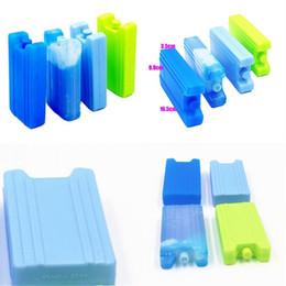 Vente en gros Boîte à glace Répétable Utilisation 400 ml Préservation à froid Fresh Garder Case Nourriture Boites de rangement Bleu Cool Factory Vente directe 2 5JS P1
