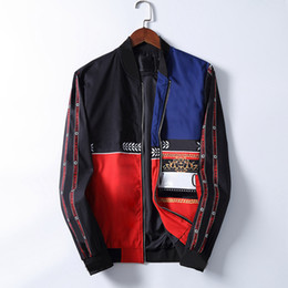 Wholesale jackets for men's for sale - Group buy designer Jacket For Men Striped Slim Pocket Mens Windbreakers Jackets Casual Baseball Men s Hoodies Jacket And Coat