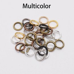 jewelry findings bulk Australia - St.kunkka 200pcs bag 4 5 6 8 10 Mm Open Jump Rings Gold bronze Split Rings Connectors For Diy Jewelry Finding Making Bulk bbyfqd mj_bag