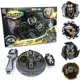 top toy beyblade Australia - 4pcs set Tops Launchers Burst packaging Box Gift Arena Toy Sale Bey Blade Bayblade Bable Drain Fafnir Beyblade Q1121