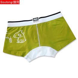 Wholesale kid boxers resale online - Child Kids Personality Cartoon Anime Men s Underwear Comfortable Cotton Woven Breathable Boxer u Convex Sexy Jp03