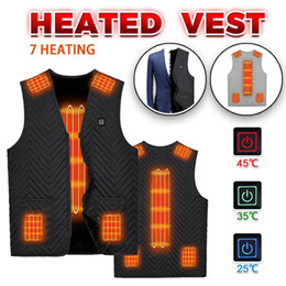 Heating Heated Vest USB Electric Jacket Hooded Coat Thermal Clothing Hunting Vest Winter Warm Fishing Skiing Nov 18th