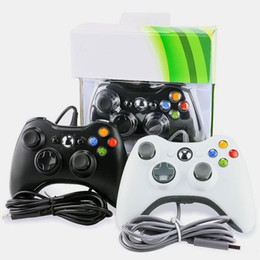 Wholesale Game pad USB Wired Console For Microsoft Xbox 360 Wireless Controller For XBOX360 Controller Joystick For Game Controllers Gamepad Joypad