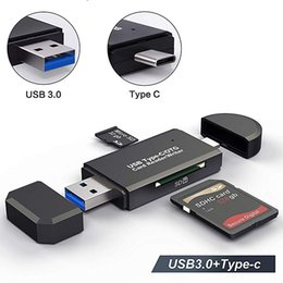 usb 3.0 external drive Australia - OTG Micro SD Card Reader USB 3.0 Card Reader 2.0 For USB Micro SD Adapter Flash Drive Smart Memory Card Reader Type C Cardreader
