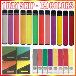 venda por atacado Barra de Puff Bar Plus Descartável Vape Pen E Dispositivo de Cigarro com Código de Segurança 550mAh Bateria 3.2ml PODs Cartuchos Pré-repletos 800 + Suff Bhar Bharp Kit