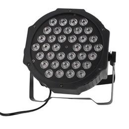 Новый дизайн 36-LED RGB RUB удаленный автоматический контроль звука DMX512 Высокая яркости DJ Bar Party Stage Lamp Wit * 4 длинные жизненные промежутки на Распродаже