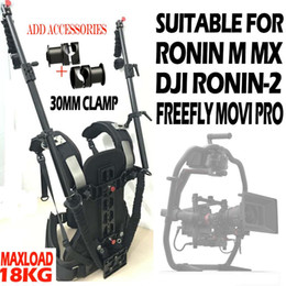 Discount ronin camera Like READYRIG EASYRIG 18kg Weight Bear Video Camera Support Vest Rig for ARRI RED DSMC2 DJI Ronin 2 Gimbal Stabilizer St
