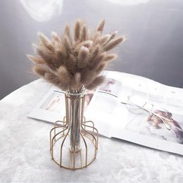 boho wedding decor Canada - 50 Pcs Natural Dried Flowers Tail Grass Bunch Colorful boho decor aesthetic room decor Real Flower Bouquet1