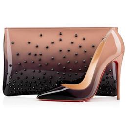 Venta al por mayor de 2021 Moda Diseñador de lujo Mujer zapatos tacones altos Tacones Red Botting So Kate Style 8cm 10 cm 12 cm Redondo punteras puntas Bombas Bombas de fondo zapatillas de deporte