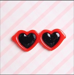 sunglasses for dogs UK - New Pet Lovely Heart Sunglasses Hairpins Pet Dog Bows Hair Clips For Puppy Dogs Cat Yorkie Teddy Pet Hair Decor Supplies jllvFa ffshop2001