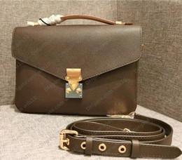 venda por atacado Mulheres Bolsas Bolsas de Alta Qualidade Saco Mulheres Genuíno Couro Metis Metis Bolsas Crossbody Bag Código Serial M40780 LB83