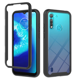 Wholesale motorola moto g covers for sale - Group buy Rugged Armor Case for Motorola Moto G9 Play G8 power lite hybrid Phone cases for Moto One Fusion G Fast E6s E7 cover