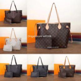 2020 Top quality Paris style Famous s designer handbags L flower Ladies handbag high-end Fashion women's shop bags with wallet Free air mail on Sale