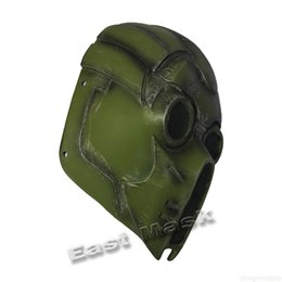 ingrosso i film di resident evil-Per Cosplay Demone Mask Maschera di Halloween Maschera Residente Scary Evil Movie Mask Monster Masks Accessori Cosplay Accessori Movie Party Forniture