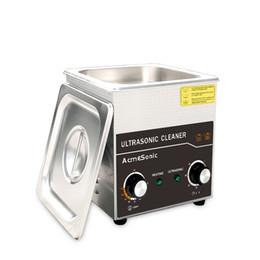 Venta al por mayor de 40kHz Calefacción digital Profesional Dental Máquina de limpieza de ultrasonidos Máquina de limpieza Joyería A1.3L