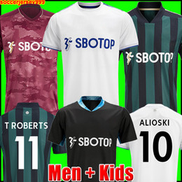 Wholesale jersey t shirt for sale - Group buy Leeds soccer jersey United T ROBERTS HARRISON HERNANDEZ COSTA BAMFORD ALIOSKI CLARKE football shirt uniforms Men Kids kit