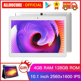 tablets android 8.0 UK - ALLDOCUBE M5X Pro 10.1 inch Android 8.0 Tablet 4GB RAM 128GB ROM MTK X27 4G LTE 10 Core Phone Call Tablets PC 2560*1600 IPS1