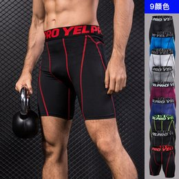 Wholesale training boxers resale online - Sports Men s Boxer Shorts Fast Drying Underwear Shorts Training Tights and Sweat You Two