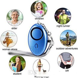 keychain alarm for women Australia - 130db Personal Security Alarm Keychain Safety Emergency Alarm with LED Light and SOS Emergency Alarm for Elders Women Kids