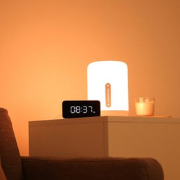 Original Youpin Bedside Lamp 2 Smart Table LED Night Light Colorful 400 Lumens Bluetooth WiFi Touch Control for HomeKit Siri on Sale