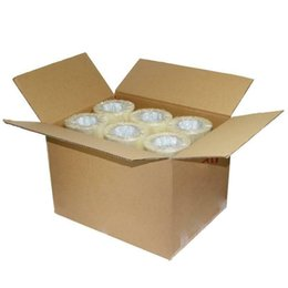 """18 Rolls Shipping Packaging Packing Box Sealing Tape 2 mil 1.9"""" x 110 Yard 330FT on Sale"""