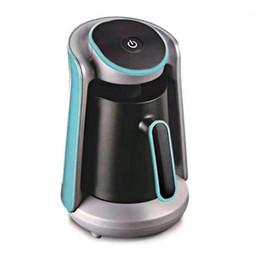 Wholesale 600W Automatic Turkish Coffee Maker Machine Cordless Electric Coffee Pot Grade Moka Kettle 220V Portable travel1