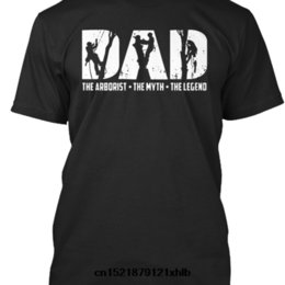 funny dad t shirts UK - Men T shirt s The Arborist - The Myth - The Legend Tshirt Arborist Dad funny t-shirt novelty tshirt women 1118