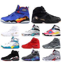 jordan 8 achat en gros de-news_sitemap_homeNike Air Jordan Jordan Retro s Top formateurs hommes d air de qualité Jumpman Doernbecher chaussures de basket ball hommes blanc Multicolor baskets Valentin