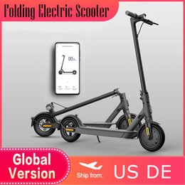 Wholesale 7 Days Ship US EU Stock Folding Electric Smart Scooter APP Control 8.5 Inch Two Wheels Electric Bicycle Waterproof Adult Off-road E-scooter