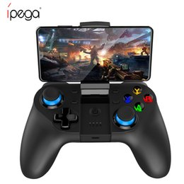 android phone game controllers 2021 - IPega PG-9129 Wireless Gamepad for IOS Android Phone Wireless Joystick Pubg Game Bluetooth Controller Joycon Joypad for