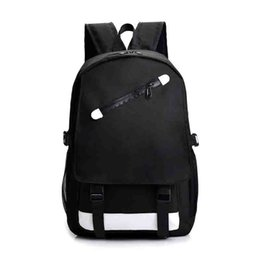Wholesale New Fashion Backpack Outdoor Traveling Letter Printed School Bags for Men Women Students Backpacks Unisex Double Shoulder Bag