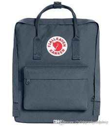 Wholesale swagger for sale – custom Preppy Style Fjallravan Kanken Dusk Backpack Large Capacity Swagger Travelling Bag Laptop Bag With