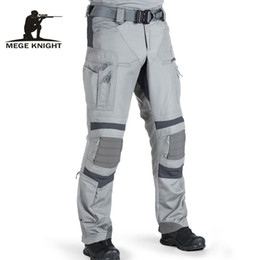 Discount paintball uniforms army Mege Tactical Pants Military US Army Cargo Pants Work clothes Combat Uniform Paintball Multi Pockets Tactical Clothes Dr