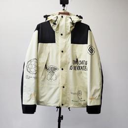 Wholesale rain jacket mens for sale – winter Brain Dead Brand Collab Mountain Jacket Mens Casual Oversized Windbreaker Rain Jackets Men Women Sports Outdoor Hip Hop Streetwear MG200282