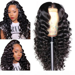 black n95 mask NZ - laurinda Deep Wave 13x4 Lace Front Human Hair Wigs For Black Women & 360 Lace Frontal Wig Pre Plucked Remy Hai send you a free n95 mask
